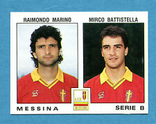 CALCIATORI PANINI 1991-92 -Figurina-Sticker n. 472 - MESSINA -New