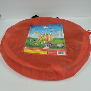 Kids Play Tunnel with Hoop, collapsible PLAYZ brand OT Sensory Therapy EI w bag
