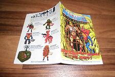 MASTERS of the UNIVERSE / HE MAN/Motu -- MENACE of EVIL HORDE / Mini-Comic 1984