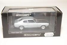 . MINICHAMPS FORD CAPRI RS 2600 1972-73 LIGHT BLUE METALLIC MINT BOXED