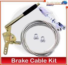 Trailer Hand Brake Cable kit Electric Brake Camper COUPLING BRAKE CABLE KIT