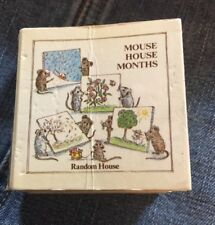 Miniature Book The Mouse House Months by Helen Craig 2 1/4 Accordion Style Tiny