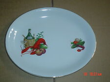 Alfred Meakin Glo White Ironstone Oval Platter Steak Fish Plate #2