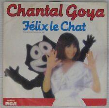 Chantal Goya 45 tours Félix le Chat Pressage Allemand