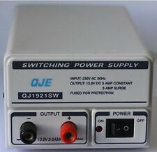 QJE QJ1921SW 3 5 AMP SWITCH MODE POWER SUPPLY UNIT CB RADIO PSU