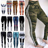 Women Running Gym Yoga Leggings Stretch Sports Pants Fitness High Waist Trousers
