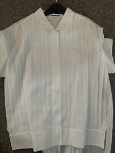 Jil Sander White Shirt - Womens - 40 - Never Worn