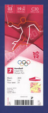 Orig.Ticket  Olympic Games LONDON 2012   //  HANDBALL  SPAIN - SWEDEN  !!