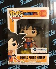 Funko POP! Dragon Ball Goku & Flying Nimbus (Orange) Galactic Toys IN HAND