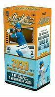 PICK A TEAM! 2020 Panini Absolute Baseball 2 Box Hobby Box Break #2 8 AUTOS!