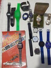 Job Lot Vintage & modern Gents Watches Various Brands Montine Smiths Seiko 5