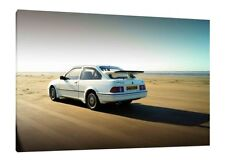 Ford Sierra RS500 Cosworth  - 30x20 Inch Canvas Artwork - Framed Picture Print