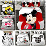 Mickey & Minnie Mouse Collection Single/Double/Queen/King Bed Quilt Cover Set #4