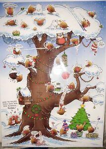 CHRISTMAS Robin Advent Calender Humour
