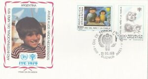 Argentina IYC 1979 International Year of the Child, FDC