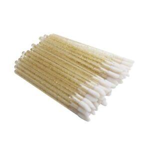 50pcs disposable eyelash lip brush crystal lashes micro brushes eyelash Make up