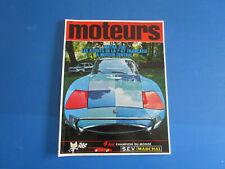 Revue MOTEURS  janvier 1968  n°65  compétition , magazine , essai ....