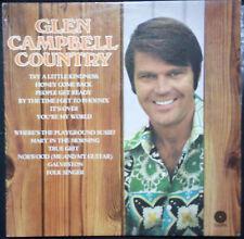 GLEN CAMPBELL COUNTRY -  VINYL LP AUSTRALIA (VERY GOOD)
