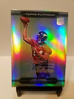 Joe Webb 2010 Topps Platinum #102 Rookie Refractor Minnesota Vikings