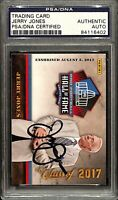 Jerry Jones Signed 2017 Panini #6 Dallas Cowboys HOF Football Card PSA/DNA