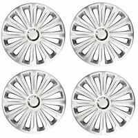 "4x Wheel Trims Hub Caps 15"" Covers fits Mazda 1, 2 & 3"