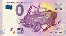 Billet Touristique 0 Euro - Arromanches 360 cinéma circulaire (la jeep) - 2016-2