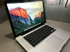 "Apple MacBook Pro 15.4"", 2.53 GHz Core 2 Duo, 8GB RAM, 240GB SSD + 640GB HDD"