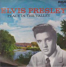 "7"" EP Elvis Presley Peace In The Valley It Is No Secret / I Believe / Take My"