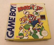 Mario & Yoshi Nintendo Gameboy Game Boy Complete PAL