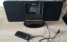 MEDION CD MP3 Touch Musik Anlage MD 82799 Musik Center iPhone iPod Docking AUX