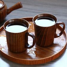 Nature Wooden Coffee Beer Mugs Wood Cup Handmade Tea Cup  Handcrafted #mi