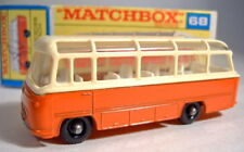 "Matchbox RW 68B Mercedes Coach orange späte ""F"" Box"