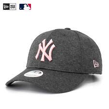New Era 9Forty Cap NY New York Yankees Grau Rosa Women Tech Hut Verstellbar New