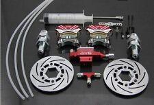 Front wheel hydraulic brake system for 1/5 RC car baja 5B 5T 5SC