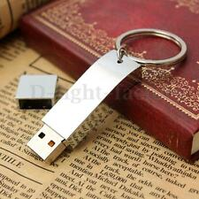 64GB Metal Thumb USB 2.0 Flash Drive Memory Stick Storage U Disk Key Ring Gift