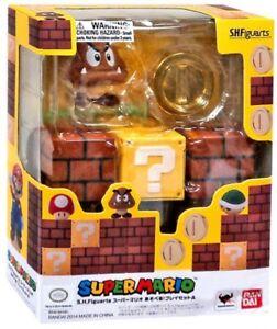 Super Mario S.H. Figuarts Diorama Set A 4-Inch Playset