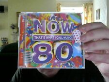 NOW THATS WHAT I CALL MUSIC 80 ON 2 CD SET PERFECT XMAS  GIFT FREE UK POST