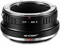 K&F Concept Lens Mount Adapter for Contax/Yashica CY C/Y Lens to Nikon Z Camera