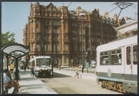 Lancashire Postcard - Trams at Crowne Plaza Midland Hotel, Manchester RT2369