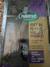 1993-94 NHL Hockey Upper Deck Parkhurst Series 2 Factory Boxes