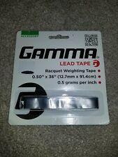 Gamma Lead Tape 1/2In X 36In 0.5 grams per inch