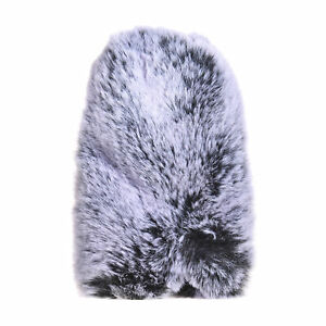 Outdoor Microphone Windscreen Fur Noise Reduction Mic Wind Muff Replacement R4E4