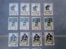 OPC NHL 1981-82 Hockey 800 singles, most EX-NM, ungraded