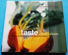 Taste Pure-and-Simple Cookbook Recipes Good Food And Health