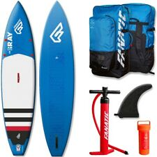 FANATICO RAY Touring AIR gonfiabile SUP 2016 12.6 STAND UP PADDLE TAVOLA BLUE
