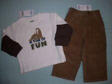 Gymboree NWT Boys Arctic Adventure Tee & Pants 12-18 Mo