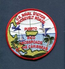 NAVSTA NAVAL STATION ROOSEVELT ROSEY ROADS PR US Navy Base Squadron Patch