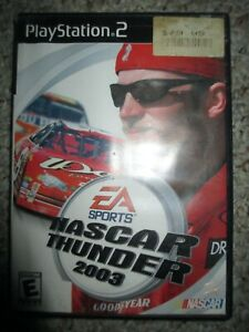 NASCAR Thunder 2003  (Sony PlayStation 2, 2002) PS2 Complete