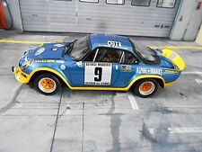 RENAULT Alpine A110 Turbo Rallye Cevennes 1975 #9 Therier OTTO Resin SP 1:18