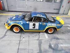 RENAULT Alpine A110 Turbo Rallye Cevennes 1975 #9 Therier OTTO Resin RAR 1:18